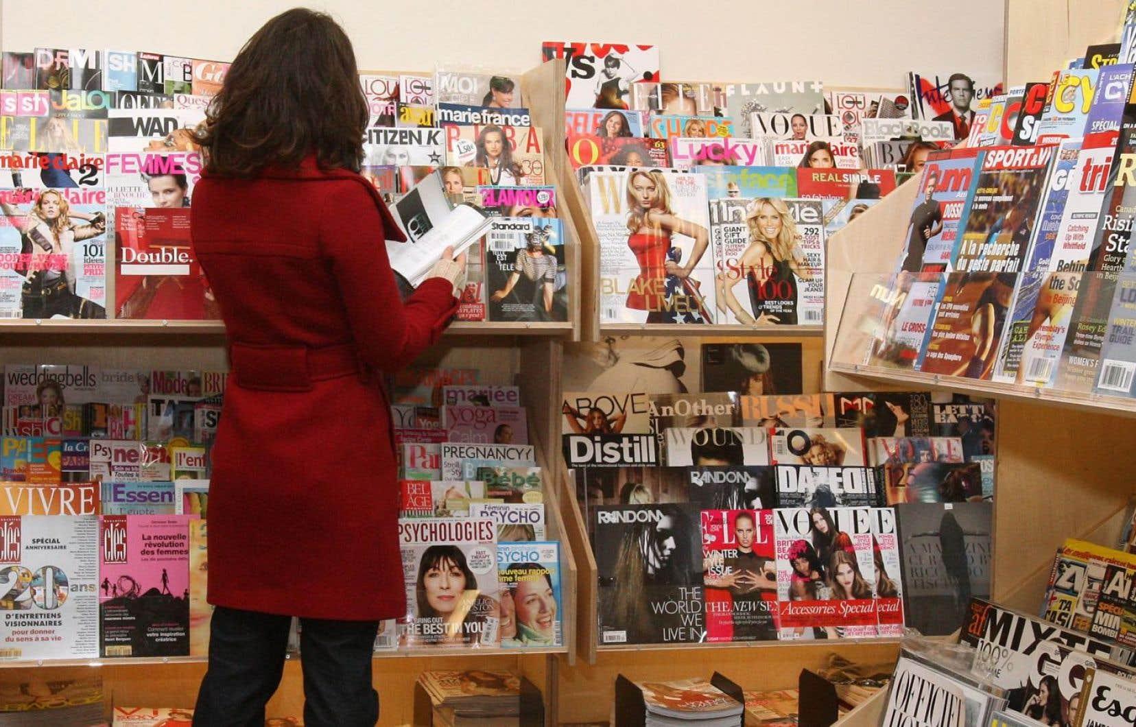 Après Renaud-Bray et Archambault, c'est maintenant Jean Coutu qui réduit l'ampleur de sa section de magazines.