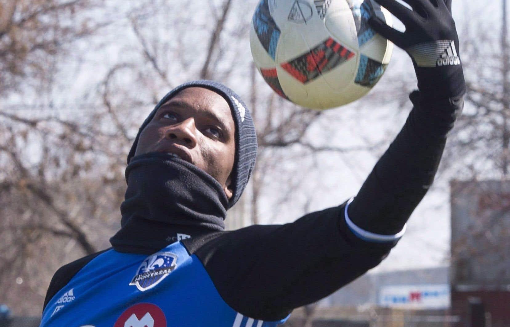 Didier Drogba à l'entraînement cette semaine