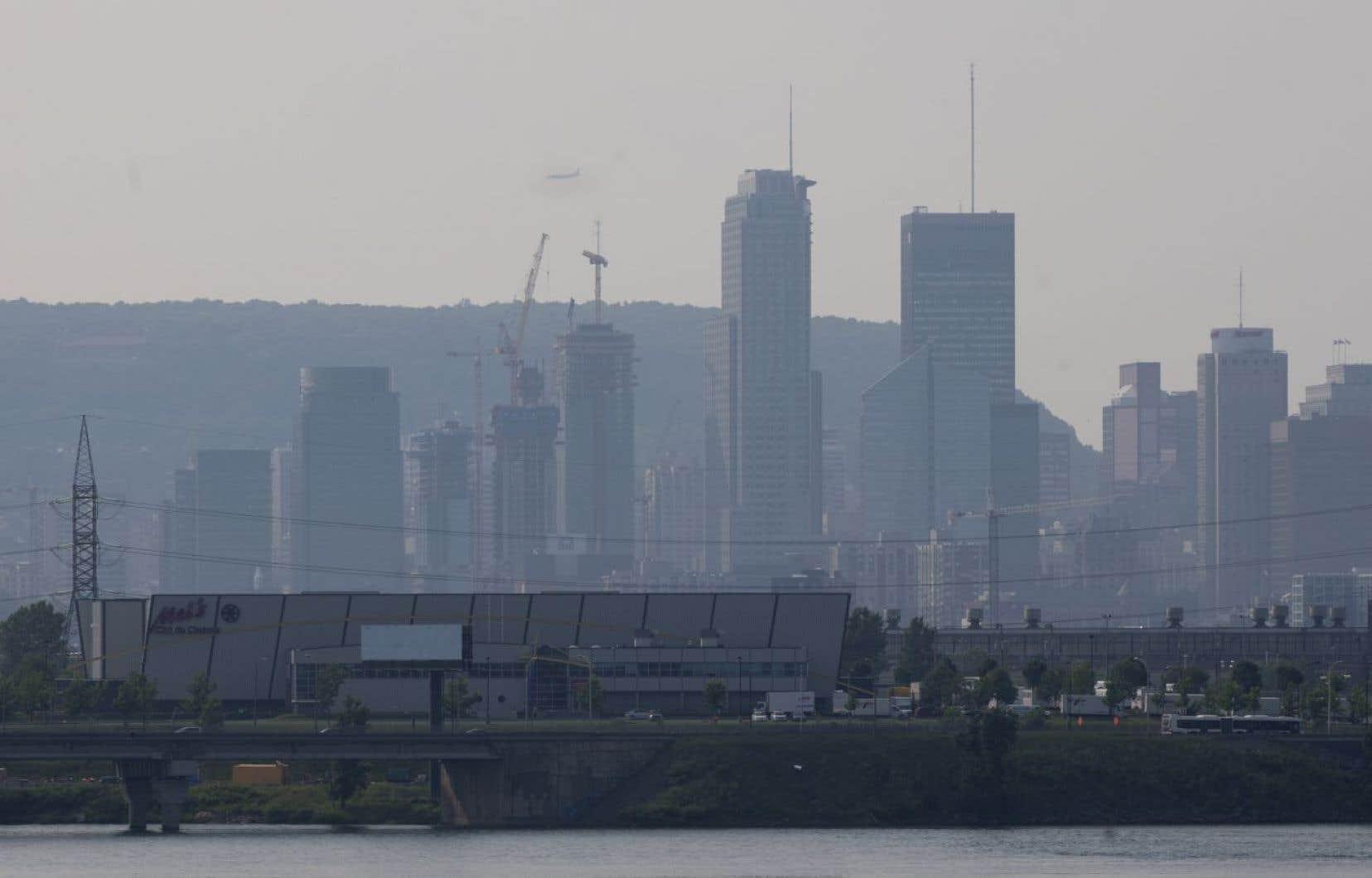 Le rapport accorde au Canada une note de «D» en s'appuyant sur neuf indicateurs couvrant les changements climatiques, la pollution atmosphérique et la gestion de l'eau douce.