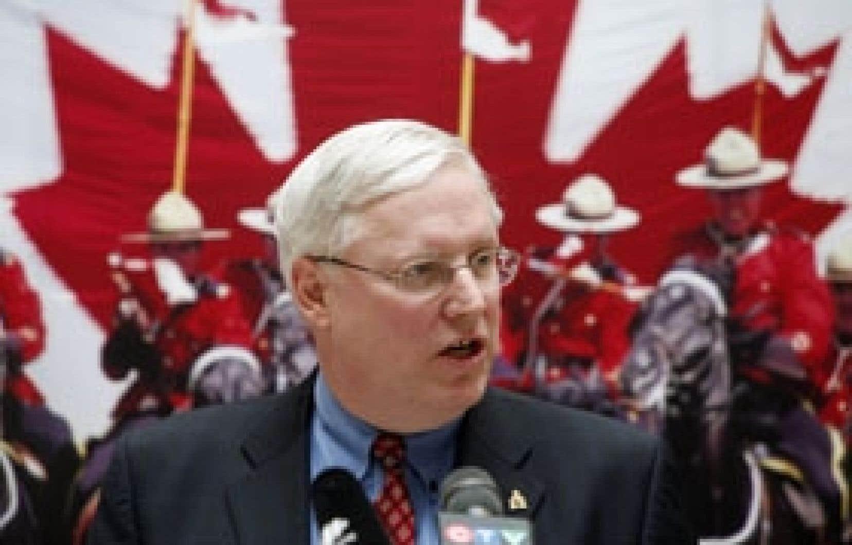 William Elliott, commissaire de la GRC