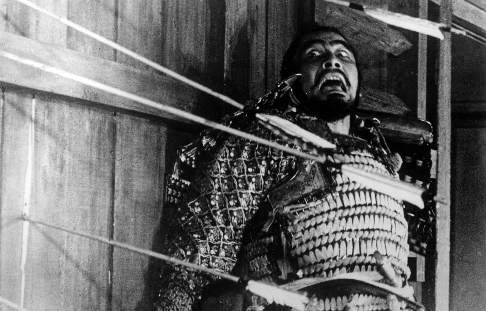 Toshiro Mifune rattrapé par le destin dans la version nippone de «Macbeth».