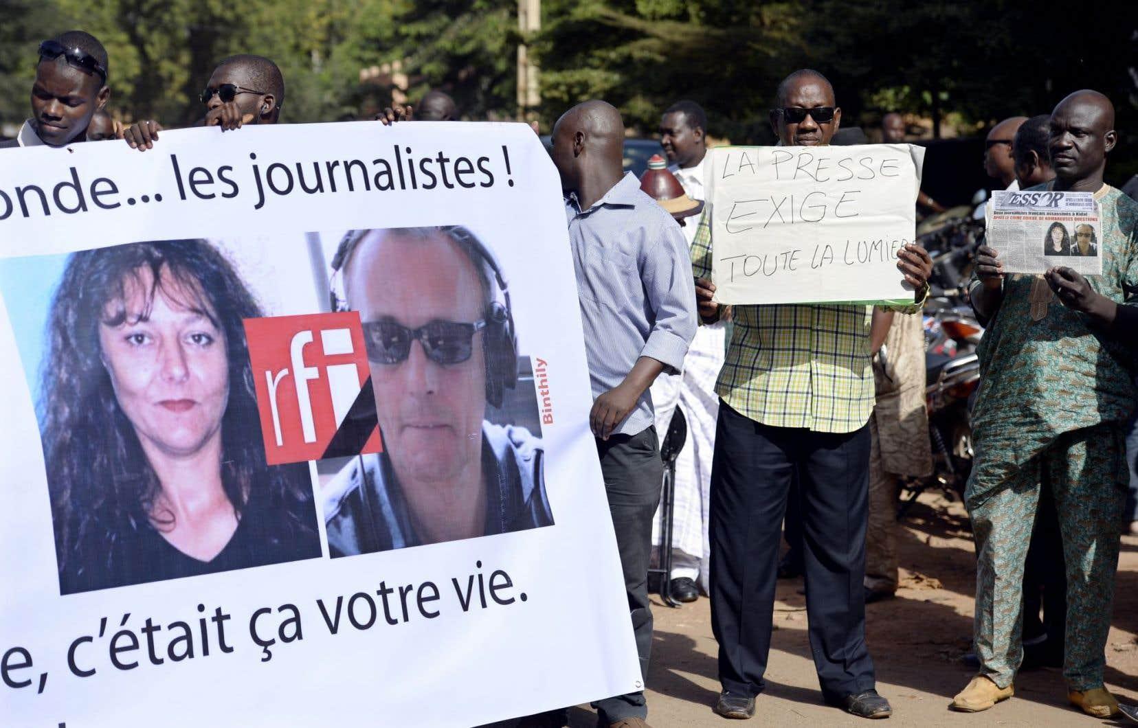 Deux journalistes de RFI sont morts au Mali en 2013. Le média a ensuite décidé de mieux préparer les envoyés spéciaux.