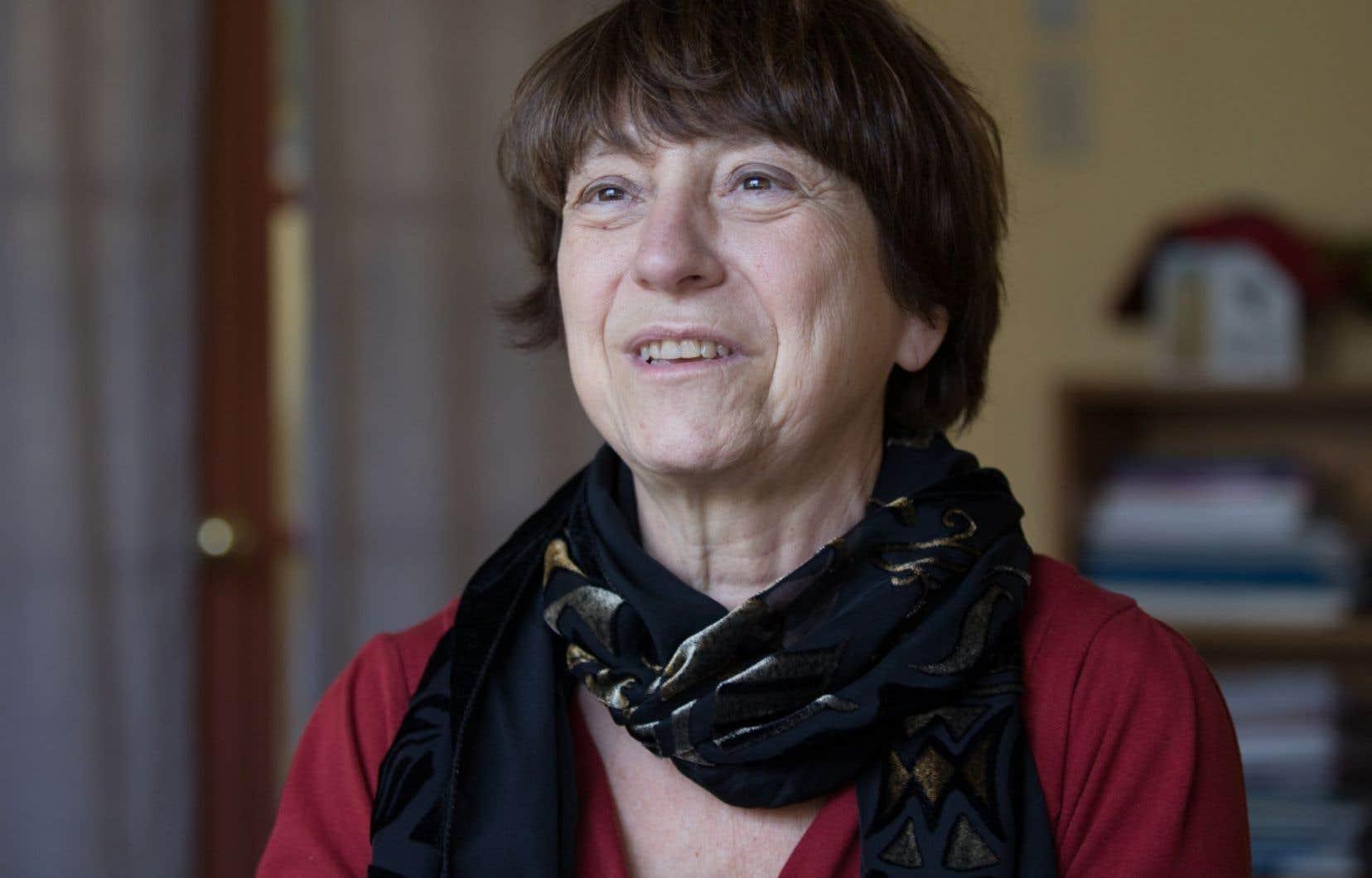 La coporte-parole de Québec solidaire, Françoise David, croit que les affinités économiques de M. Péladeau avec la Coalition avenir Québec envoient un message contradictoire.