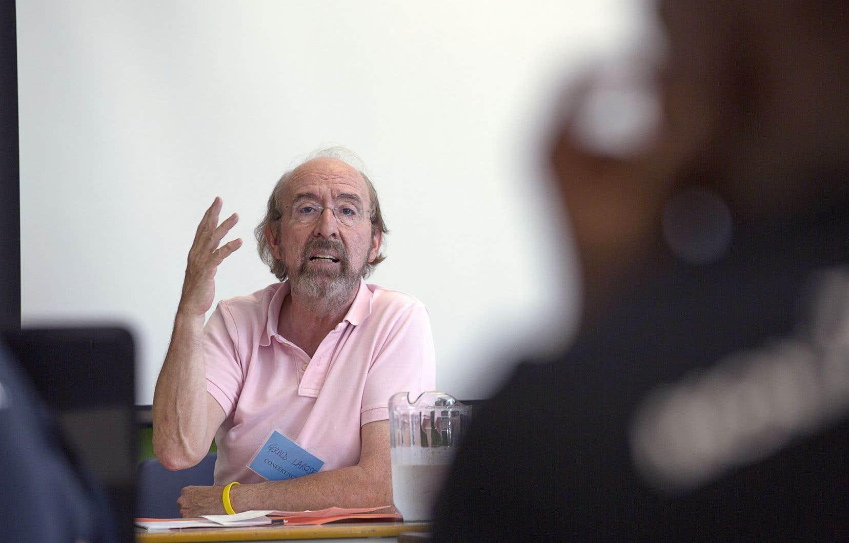 Le français, en 2016, n'est plus la langue commune au Québec, écrit Gérald Larose.