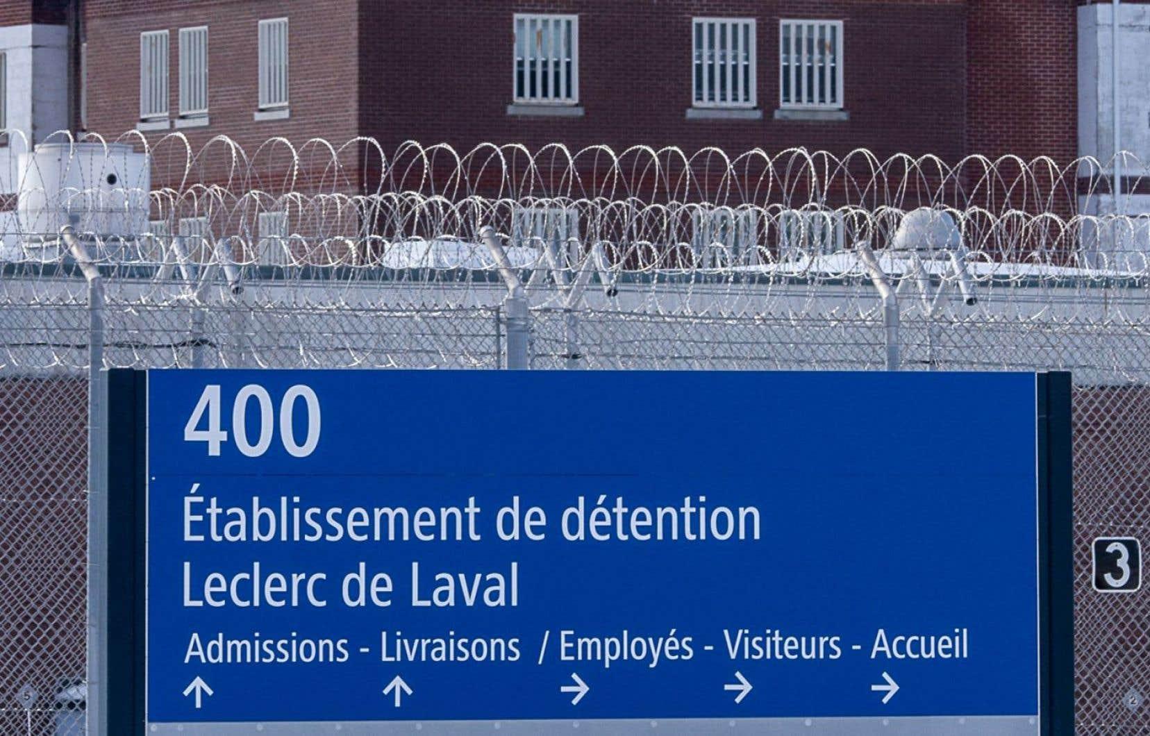 L'Établissement de détention Leclerc de Laval