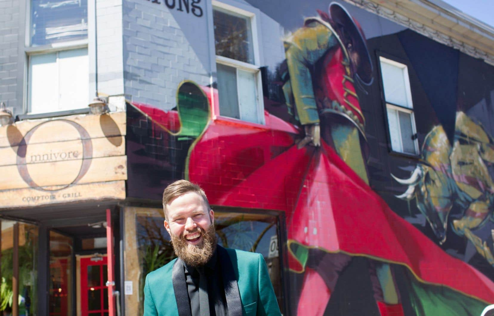 André Bathalon, cofondateur du Festival Mural