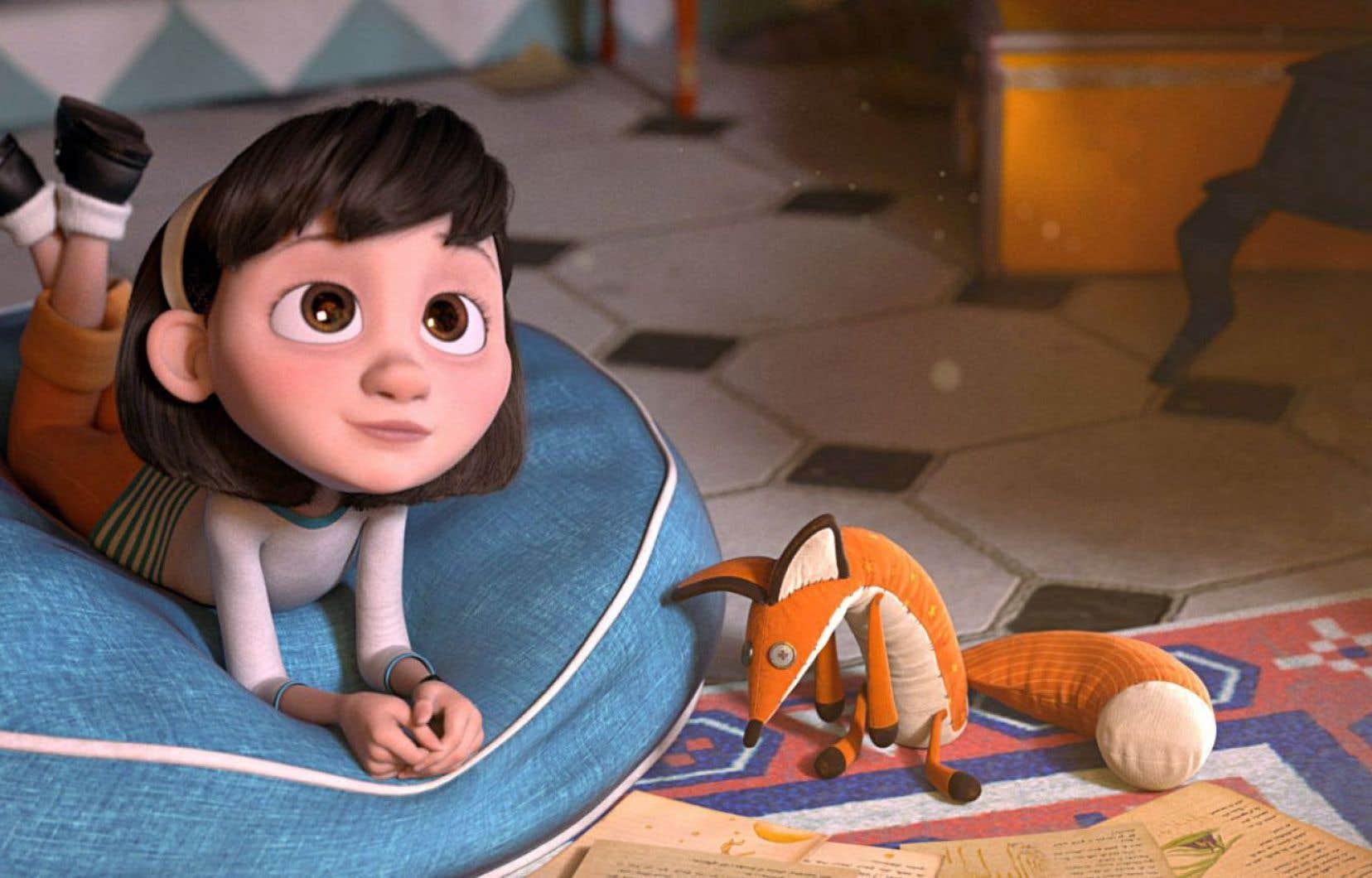 Scène du film «Le Petit Prince» du réalisateur Mark Osborne