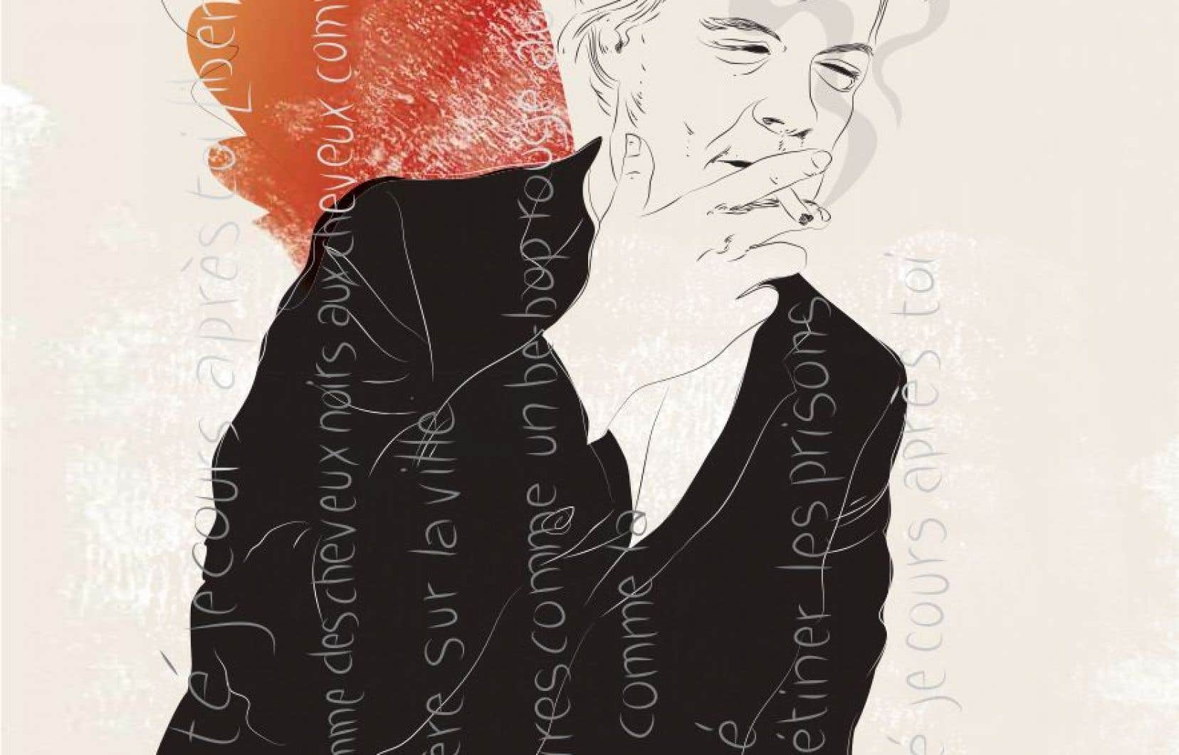 Disparu à 30 ans, le poète québécois Louis Geoffroy voulait faire gicler la vie à travers les mots.