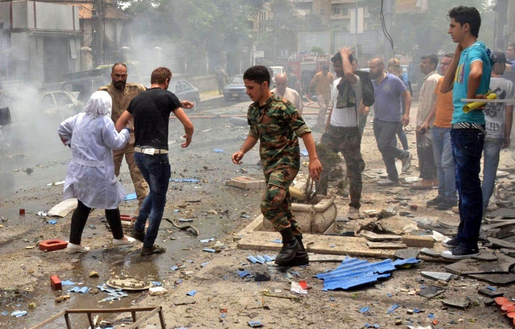 Six hôpitaux d'Alep ont été touchés par des bombardements au cours des dix derniers jours.