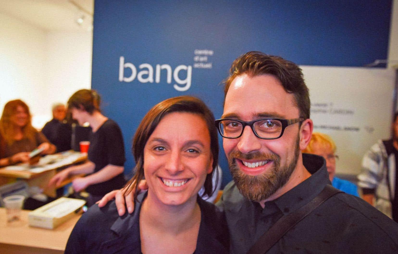 Mylène Bouchard et Simon Philippe Turcot ont tenu le pari fou de créer une maison d'édition à Saguenay.