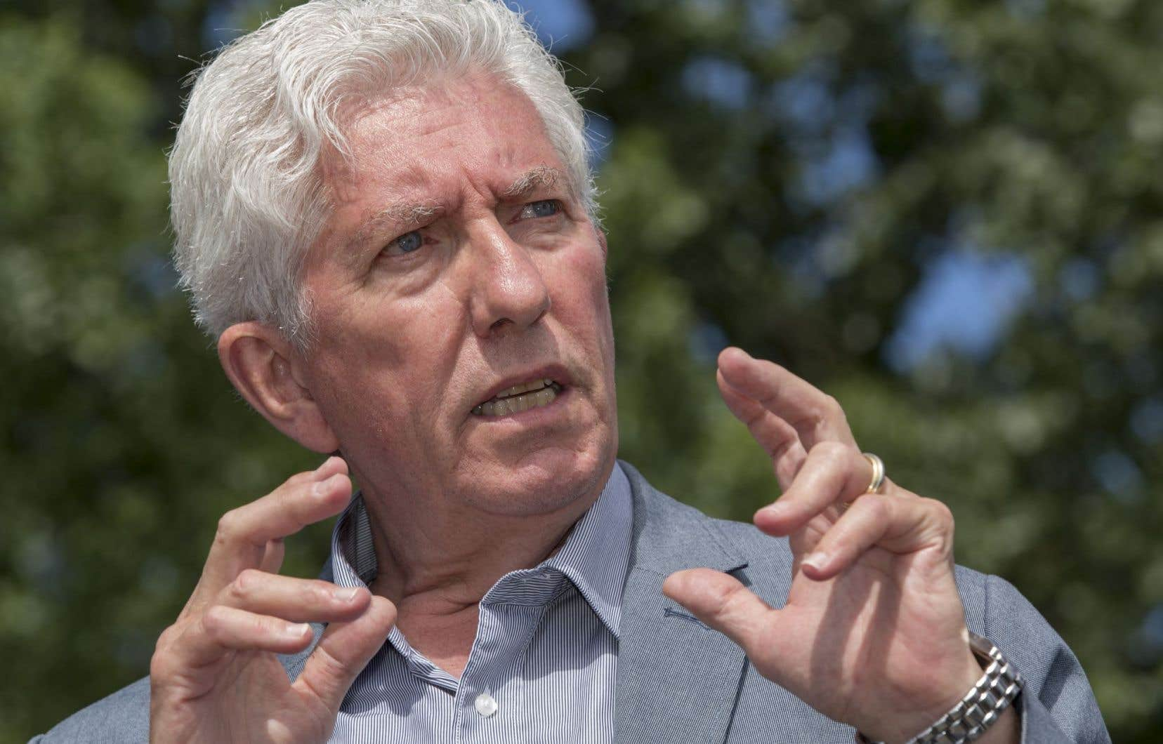 L'ancien chef bloquiste Gilles Duceppe