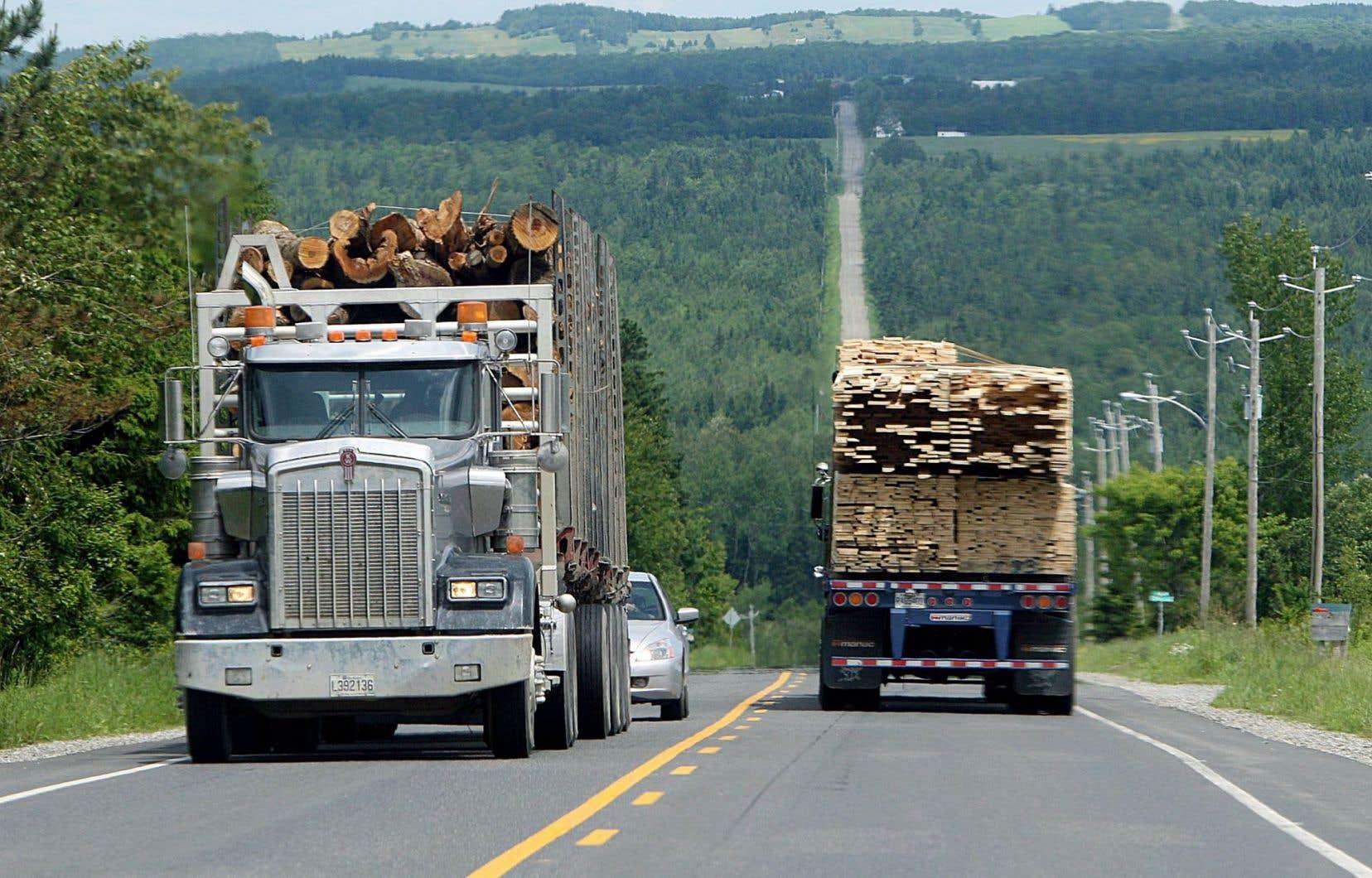 S'il est une industrie qui est durable, c'est bien celle de la forêt, selon Rénald Bernier.