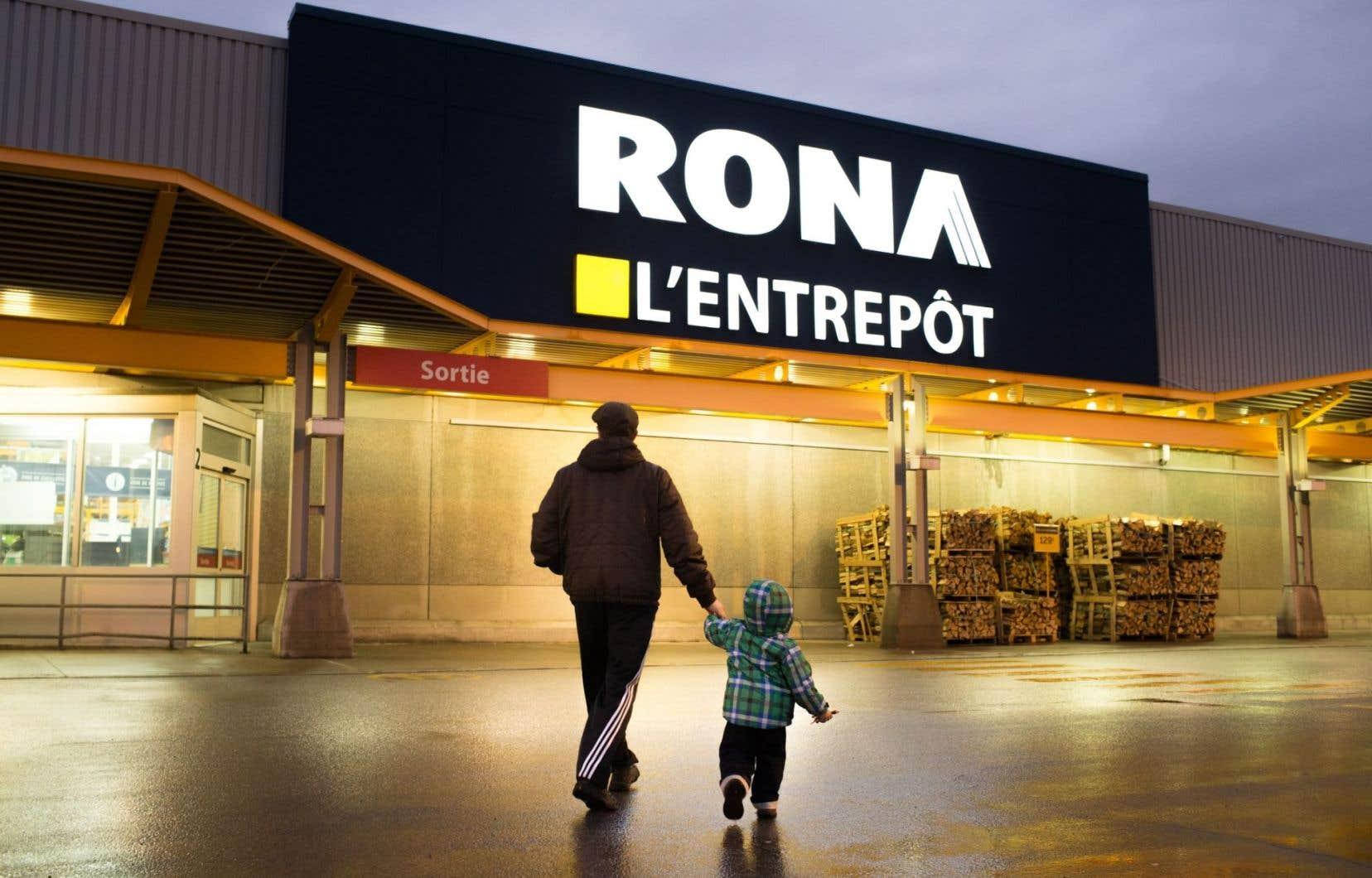 Rona a affiché une perte nette de 16,5 millions, soit 15 ¢ par action, pour le trimestre clos le 27 mars.