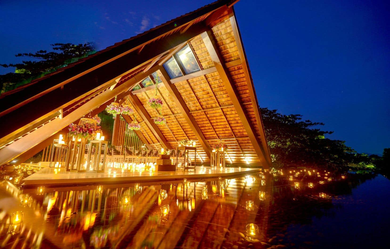 Un mariage des plus exotiques en Thaïlande