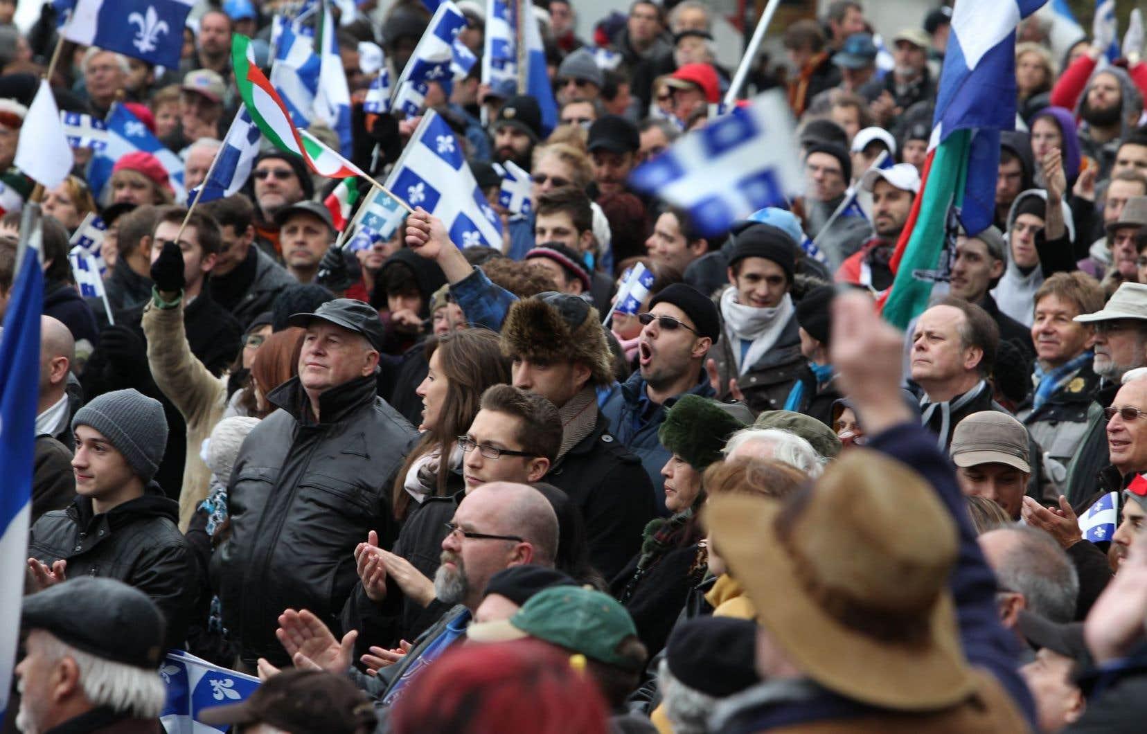 Une étude commandée par la Société Saint-Jean-Baptiste soutient que le Québec se trouve actuellement en meilleure position financière qu'en 1995 pour devenir indépendant.