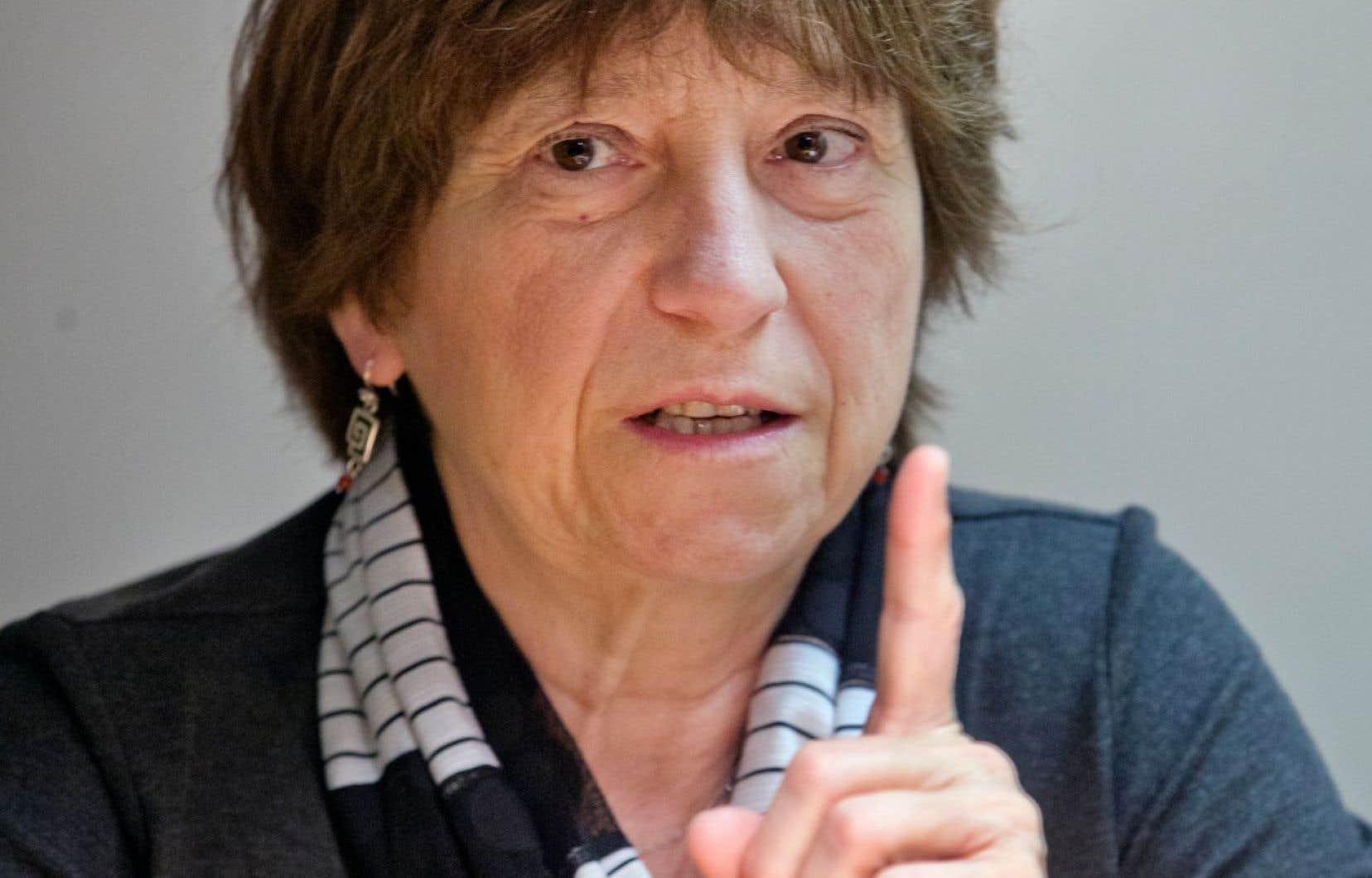 «Le minimum qu'on doit aux gens de notre société québécoise, c'est la clarté», dit la porte-parole de Québec solidaire Françoise David.