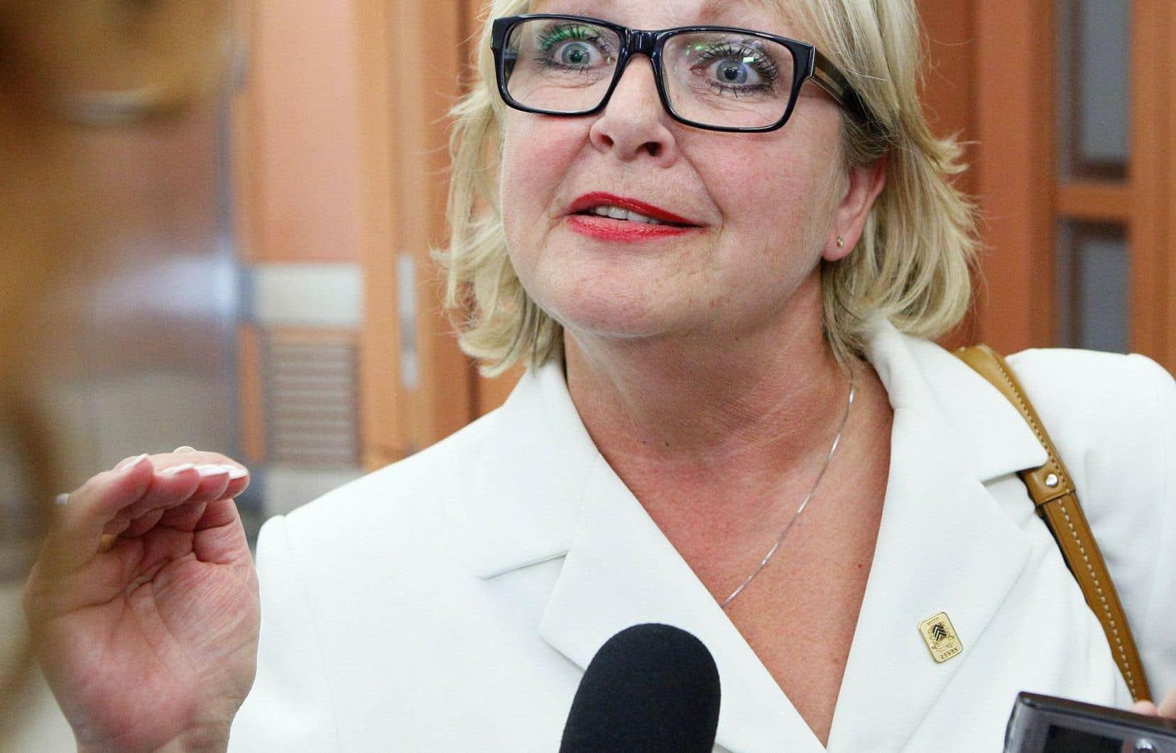 L'ancienne mairesse de Lévis Danielle Roy-Marinelli
