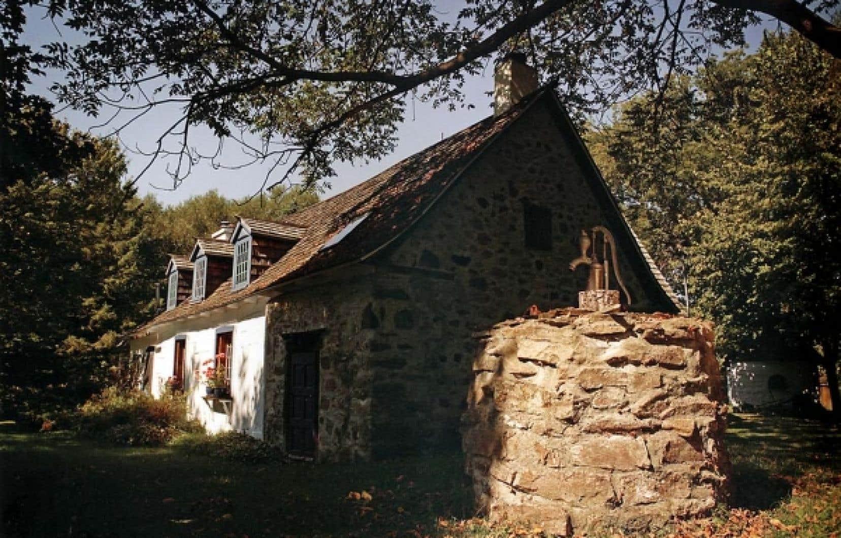 La maison Raizenne, à Oka