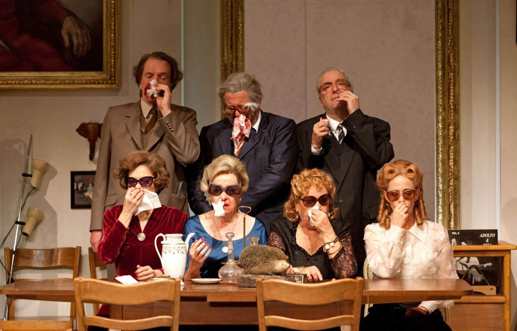 La pièce «Île flottante» sera accueillie au Théâtre Jean-Duceppe dès jeudi soir pour lancer le Festival TransAmériques.