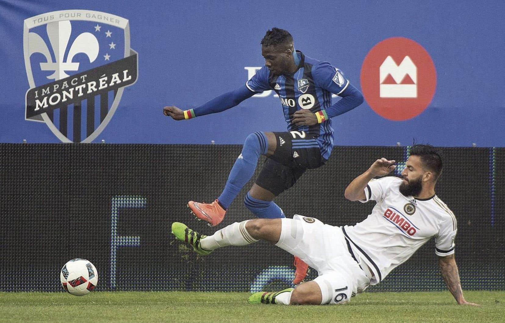 Ambroise Oyongo dans un match récent contre Philadelphie