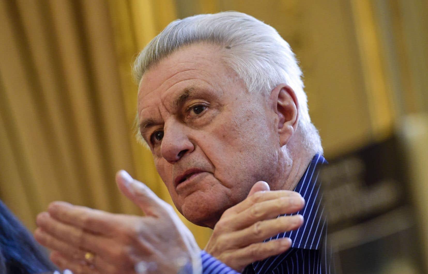 L'écrivain américain John Irving