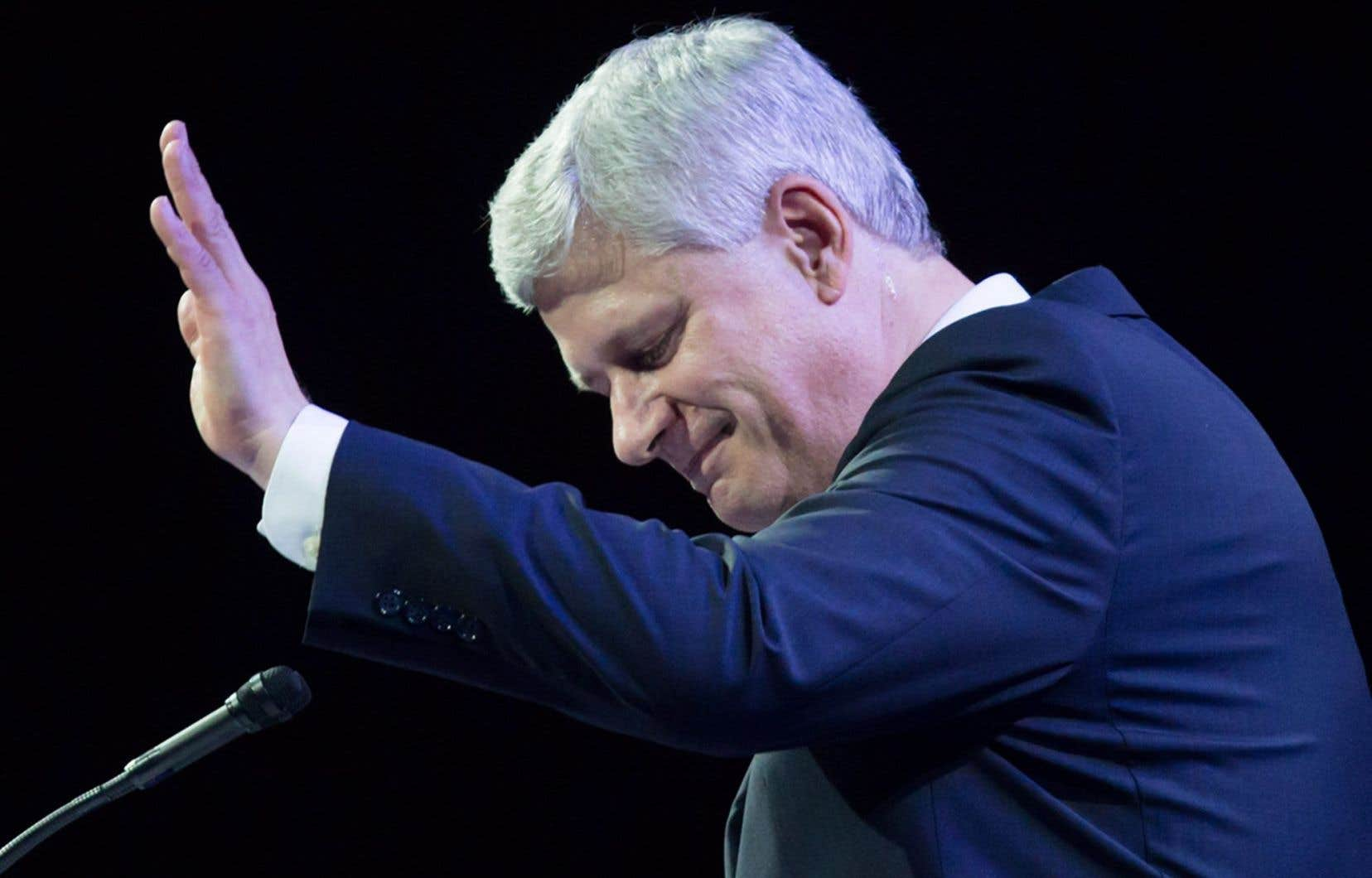 Stephen Harper s'est félicité du rôle de son gouvernement au Québec, en dressant le bilan de ses années à la tête du pays.