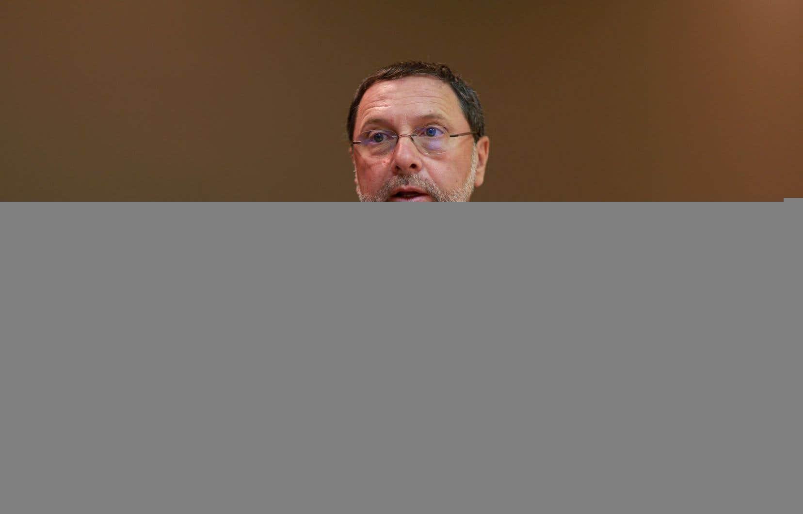 Yves-Thomas Dorval, président-directeur général du Conseil du patronat du Québec