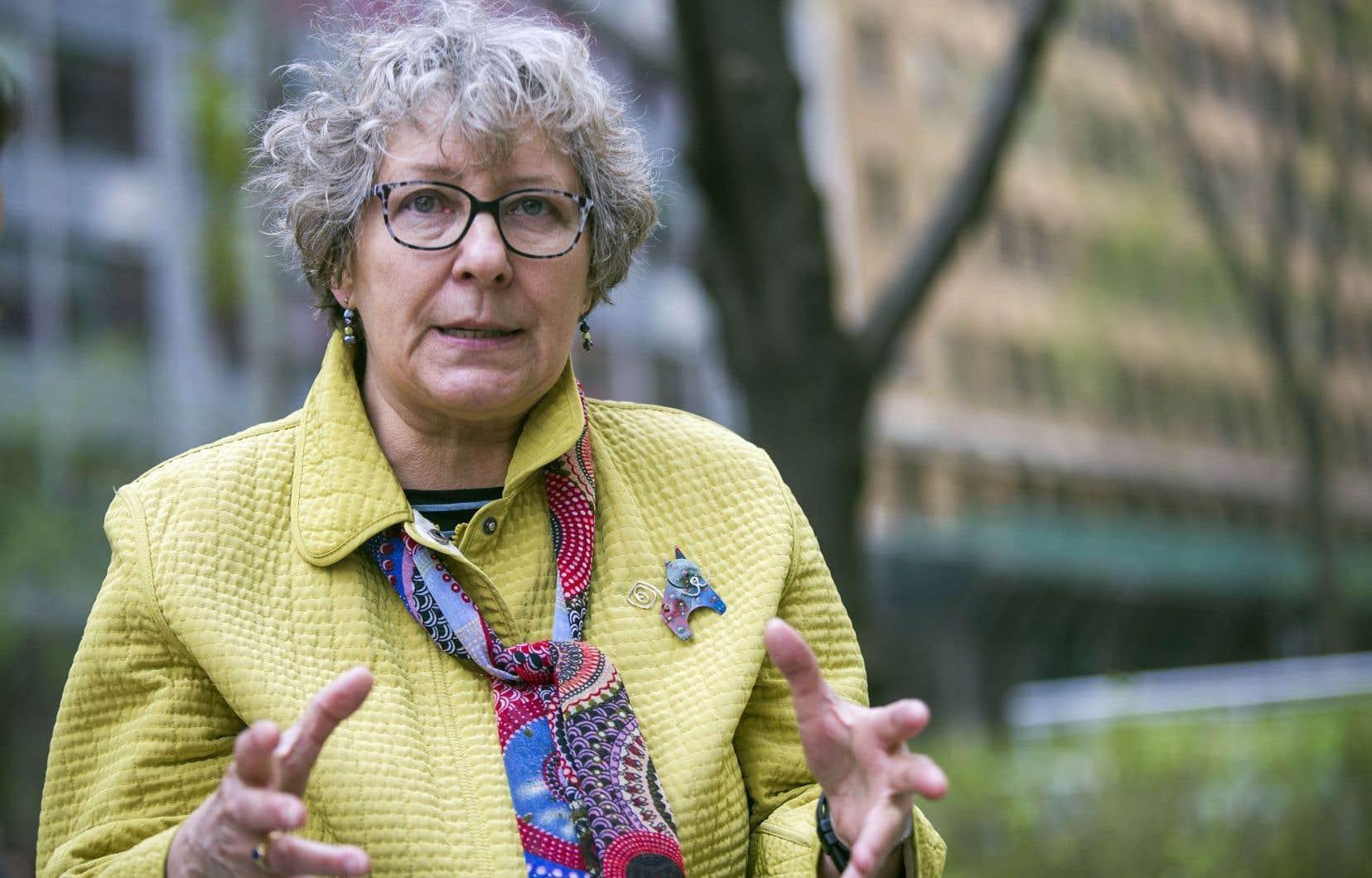 Louise Desmarais: «Pour qu'on retienne la lutte politique et sociale, il fallait écrire ce livre.»
