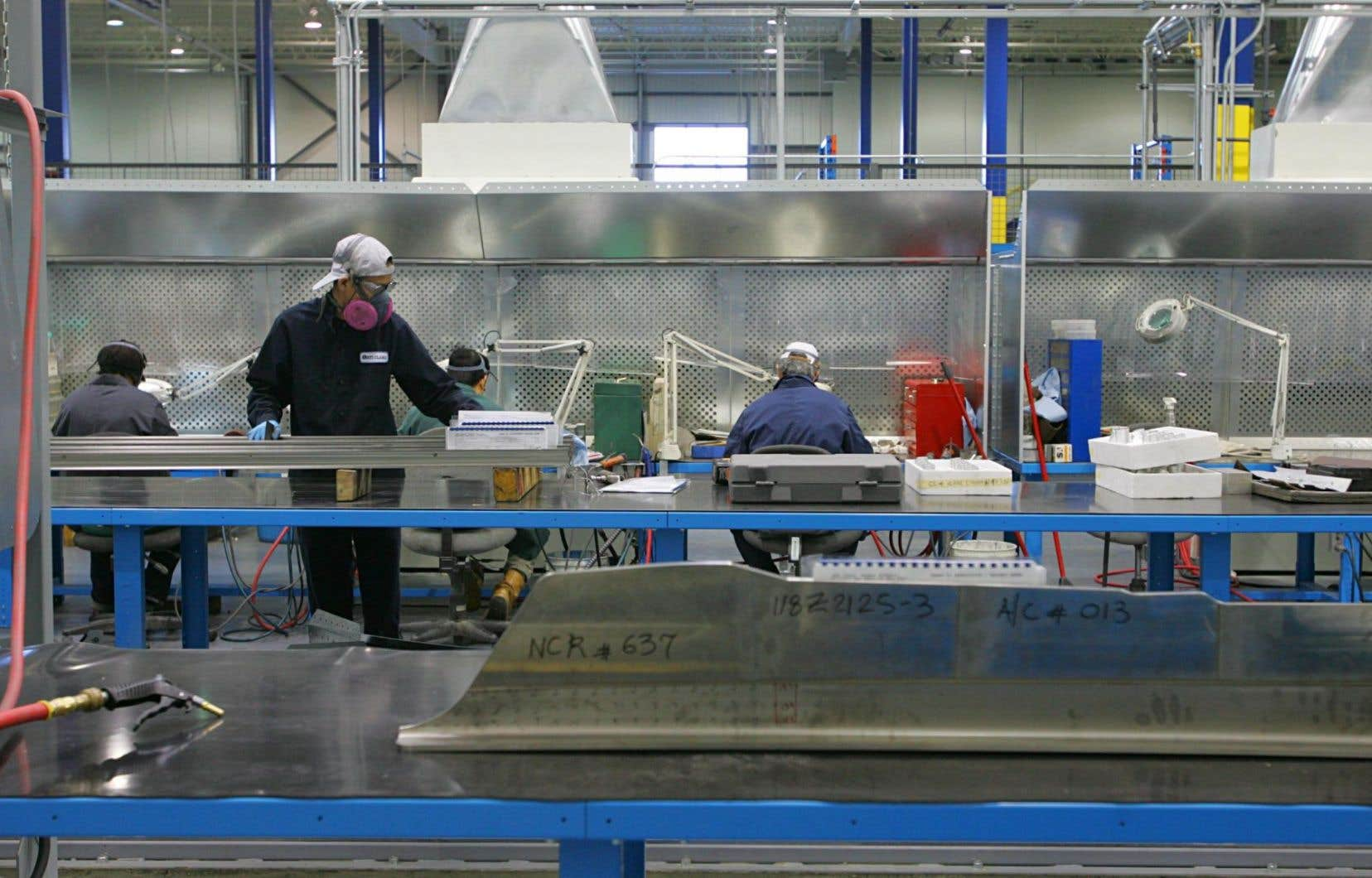 Dans l'industrie manufacturière, la marge bénéficiaire est tombée à 5,4 %, sous sa moyenne historique de 6,2 %.