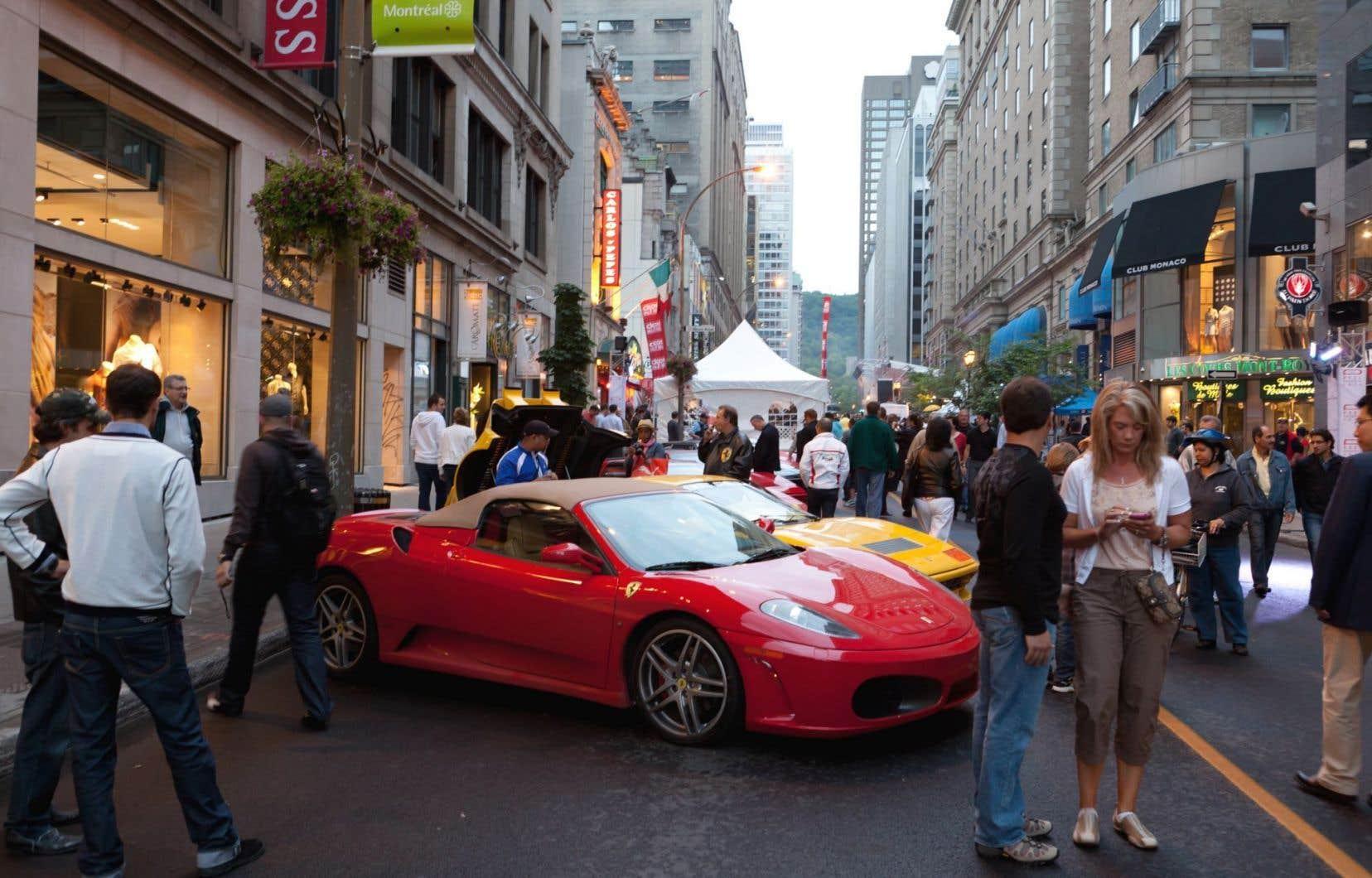 La fin de semaine du Grand Prix de Montréal attire une foule de touristes dans la métropole à chaque année.