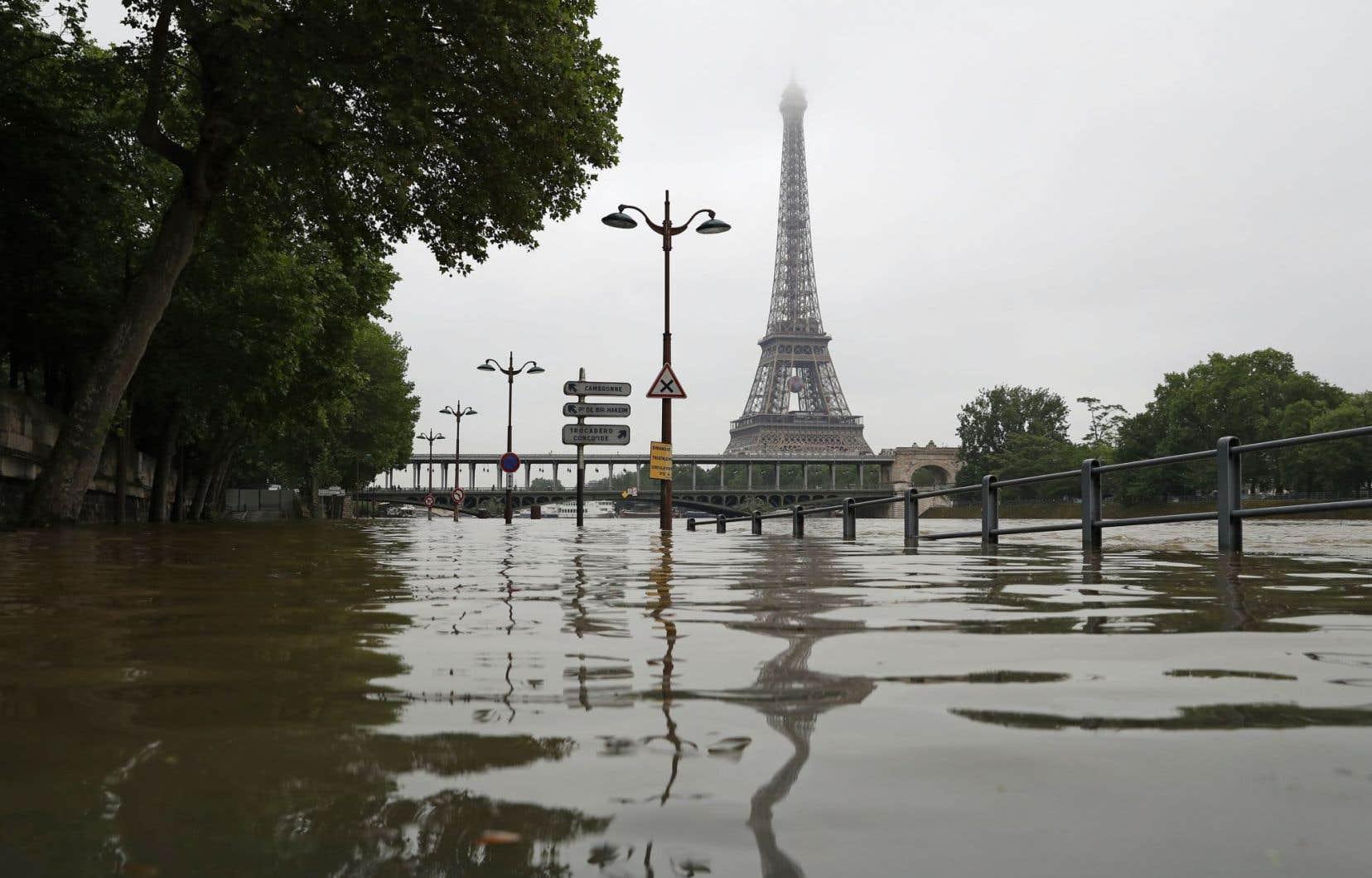 Le niveau de la Seine a atteint jeudi5,13m à Paris et devrait monter vendredi à entre 5,30 et 5,90m.