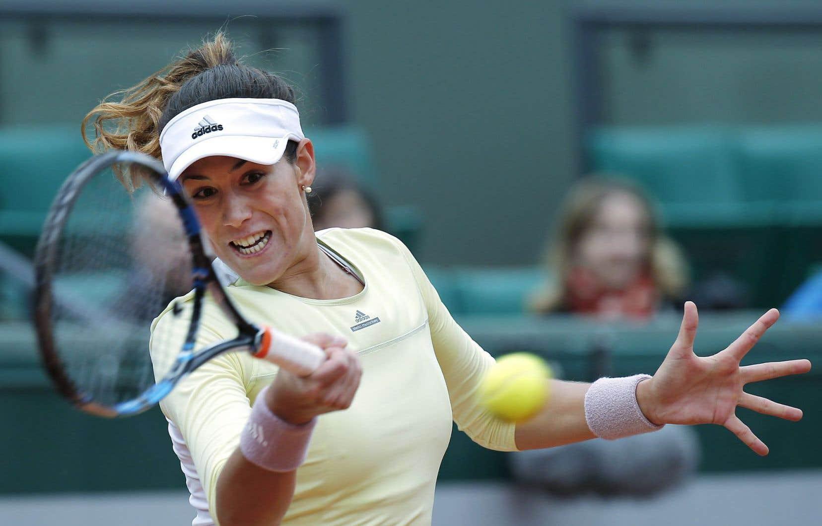 Garbine Muguruza affrontera Serena Williams, no 1 mondiale, en finale à Roland-Garros samedi.