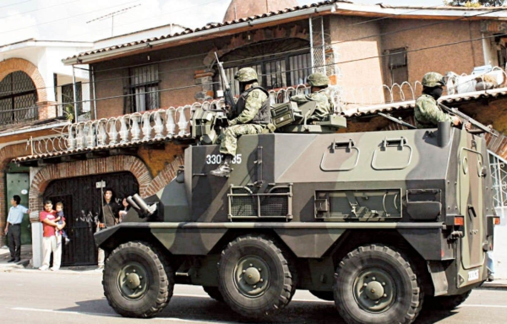 L'opération s'est déroulée à Cuernavaca.