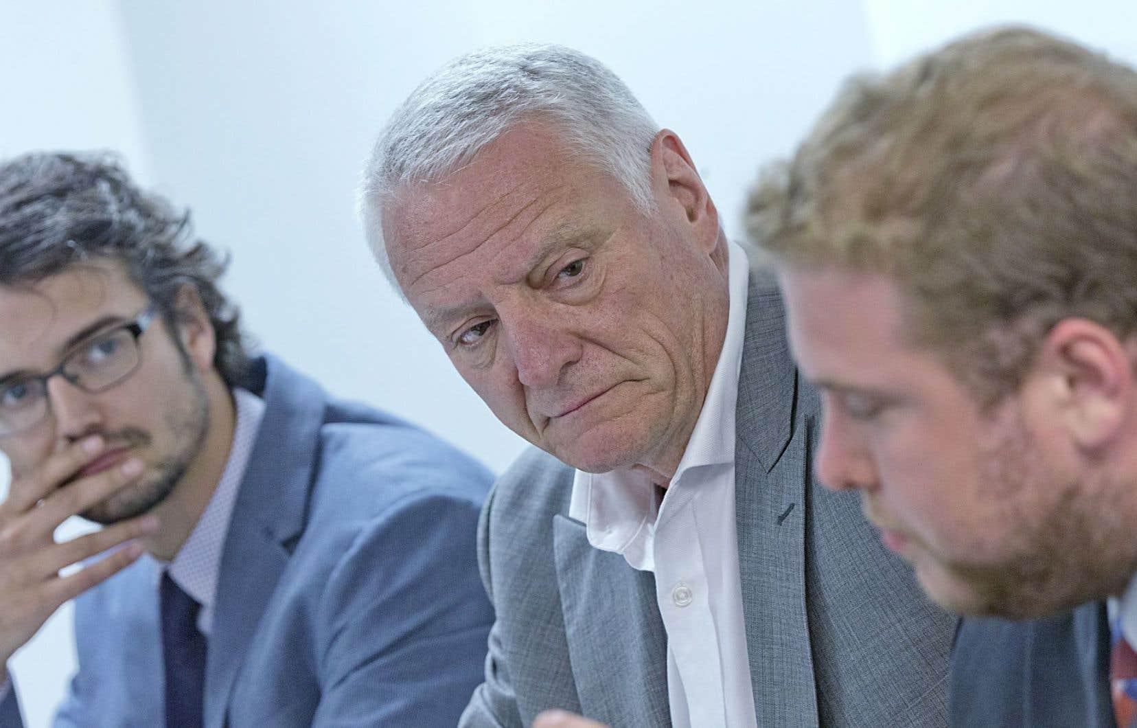 Julien D. Pelletier, Pierre Craig et Marc-Antoine Cloutier