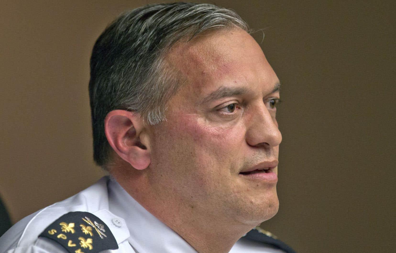 Le chef du Service de police de la Ville de Montréal, Philippe Pichet