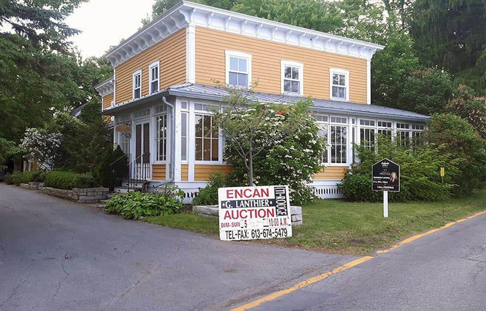 La maison où est né Lionel Groulx a été construite en 1872.