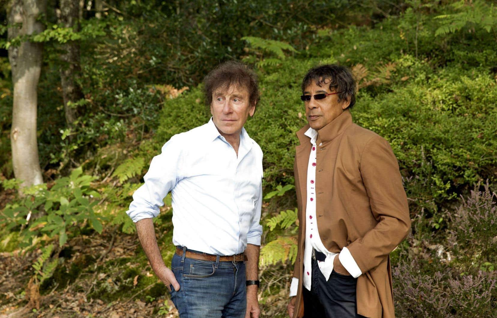 Alain Souchon et Laurent Voulzy présenteront un concert à la salle Wilfrid-Pelletier de la Place des Arts, dimanche soir.