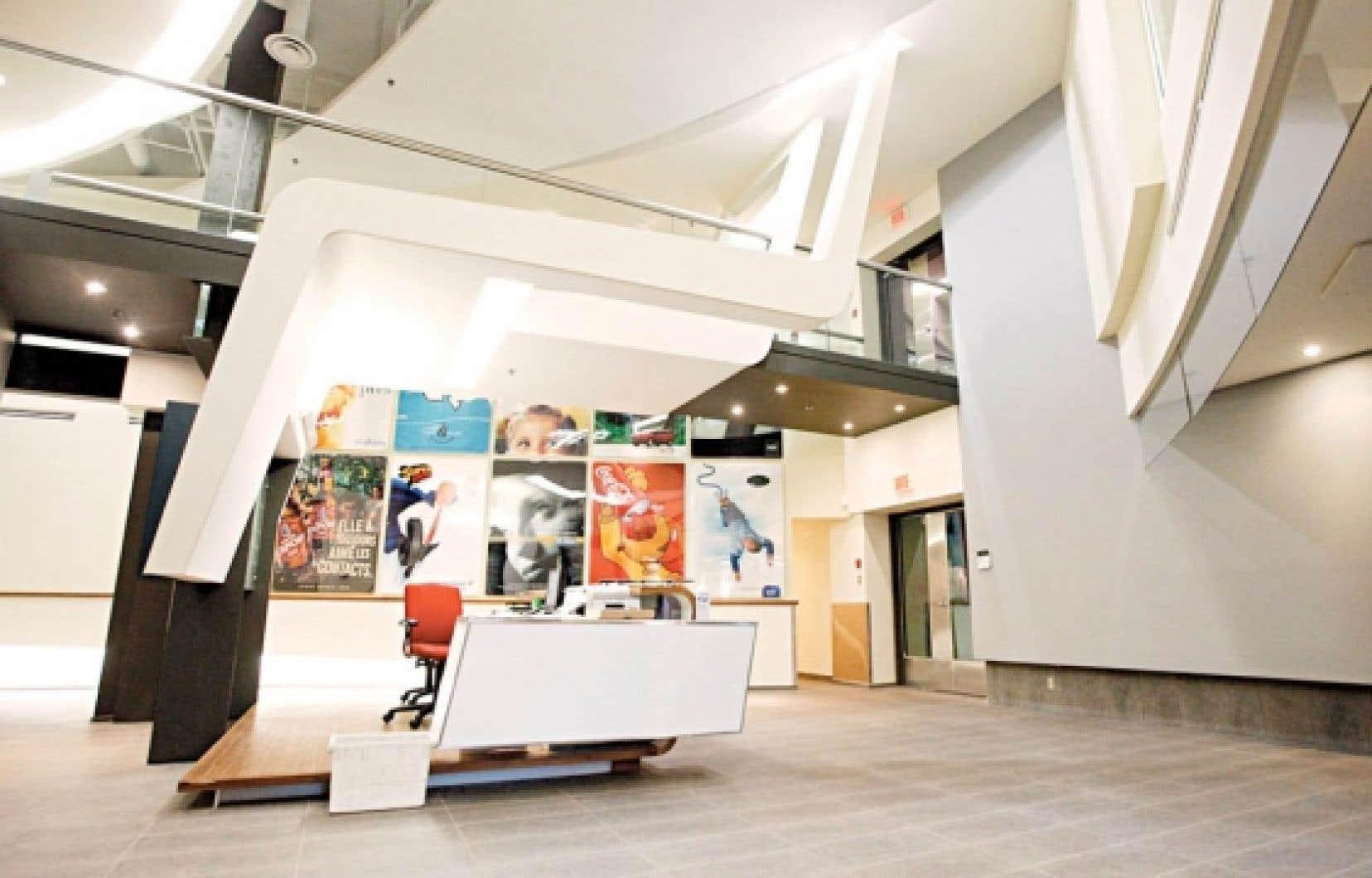 Les bureaux de Cossette à Québec. Le siège social de l'agence restera dans la Vieille Capitale.