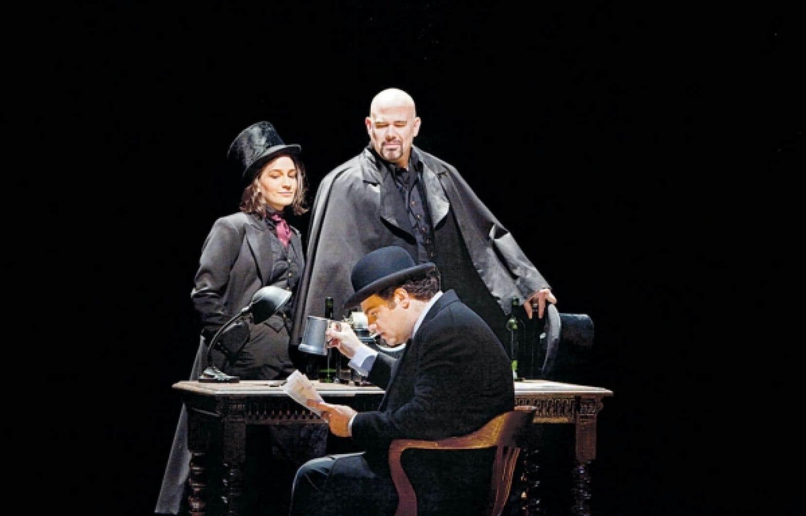 La nouvelle production des Contes d'Hoffmann est signée par Bartlett Sher, metteur en scène honoré sur Broadway.