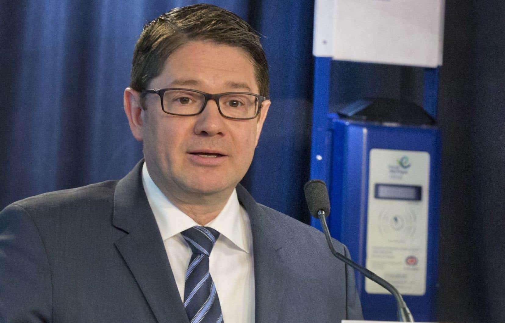 Le président d'Hydro-Québec, Éric Martel