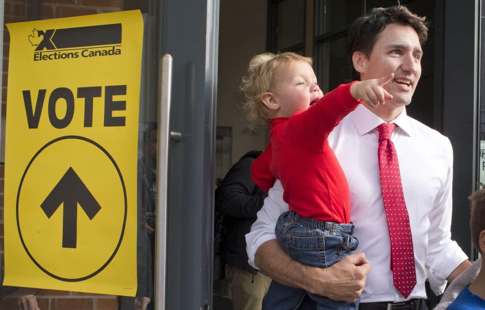 L'apparition de Justin Trudeau dans le paysage politique canadien pourrait expliquer l'intérêt accru des jeunes pour le processus électoral.