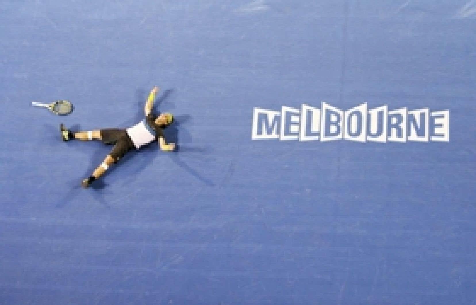 Rafael Nadal a livré hier un combat en cinq manches épique de 5 heures 14 minutes contre Fernando Verdasco.