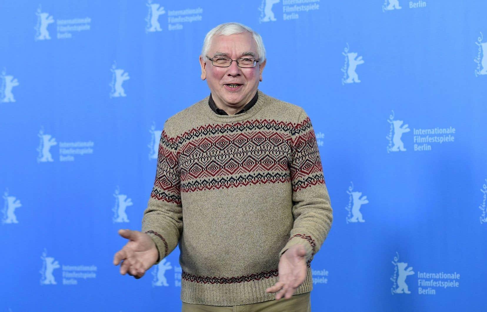 Le cinéaste Terence Davies à la Berlinale en février dernier