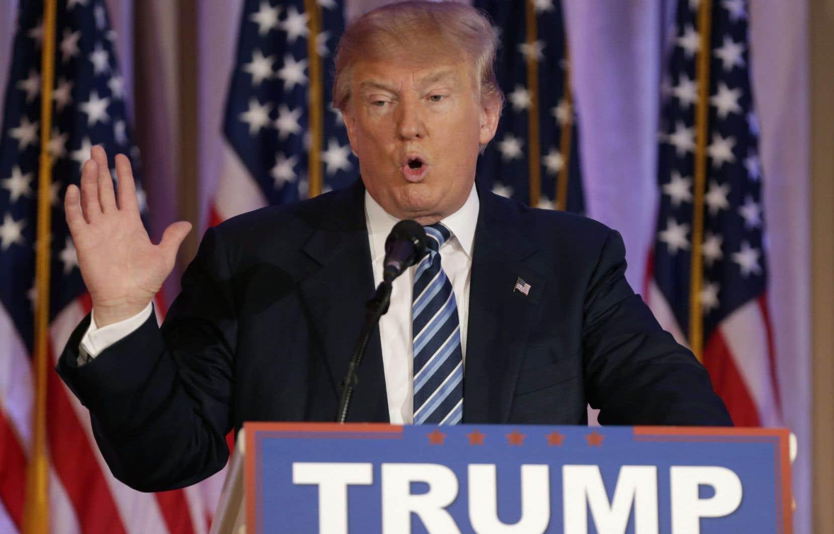 Trump a déclaré en octobre dernier qu'il pourrait «probablement très bien s'entendre avec Vladimir Poutine».