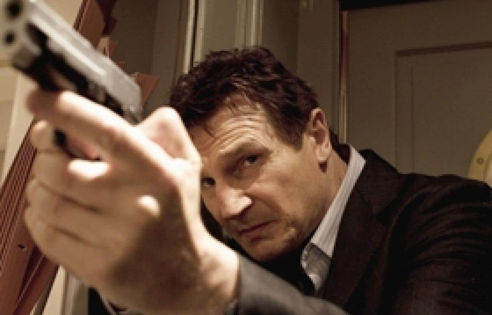 Liam Neeson dans L'Enlèvement, de Pierre Morel.