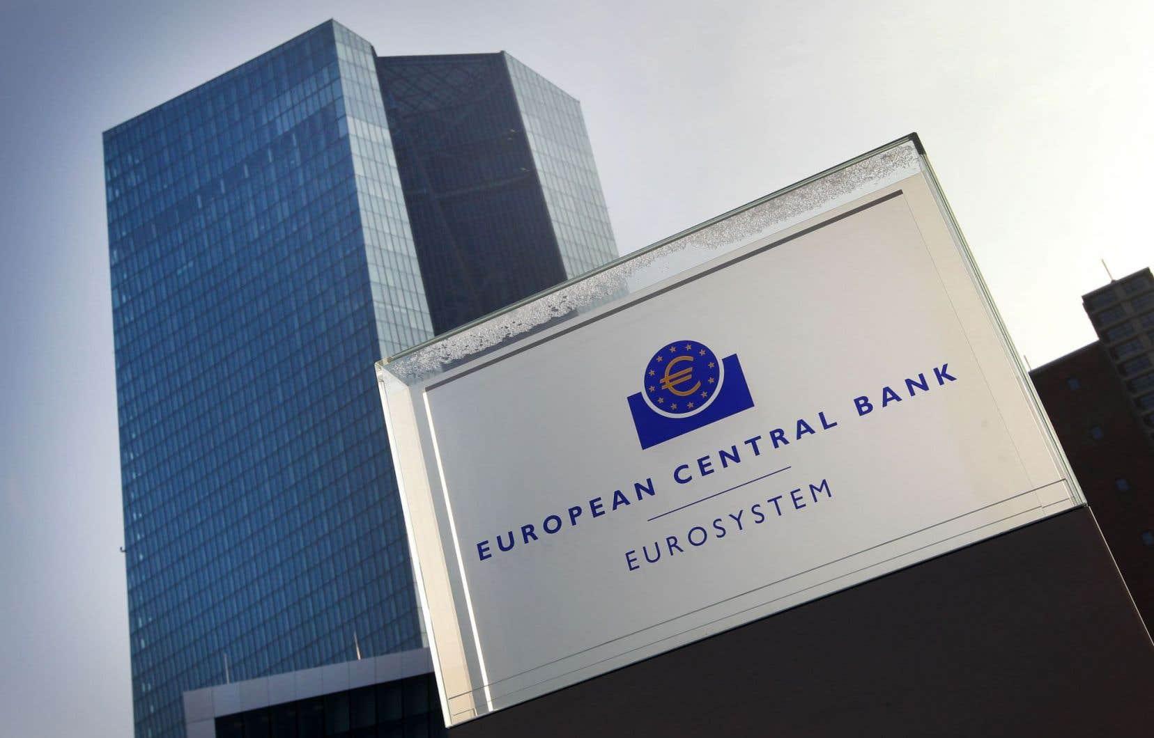 Les bureaux de la Banque centrale européenne à Francfort