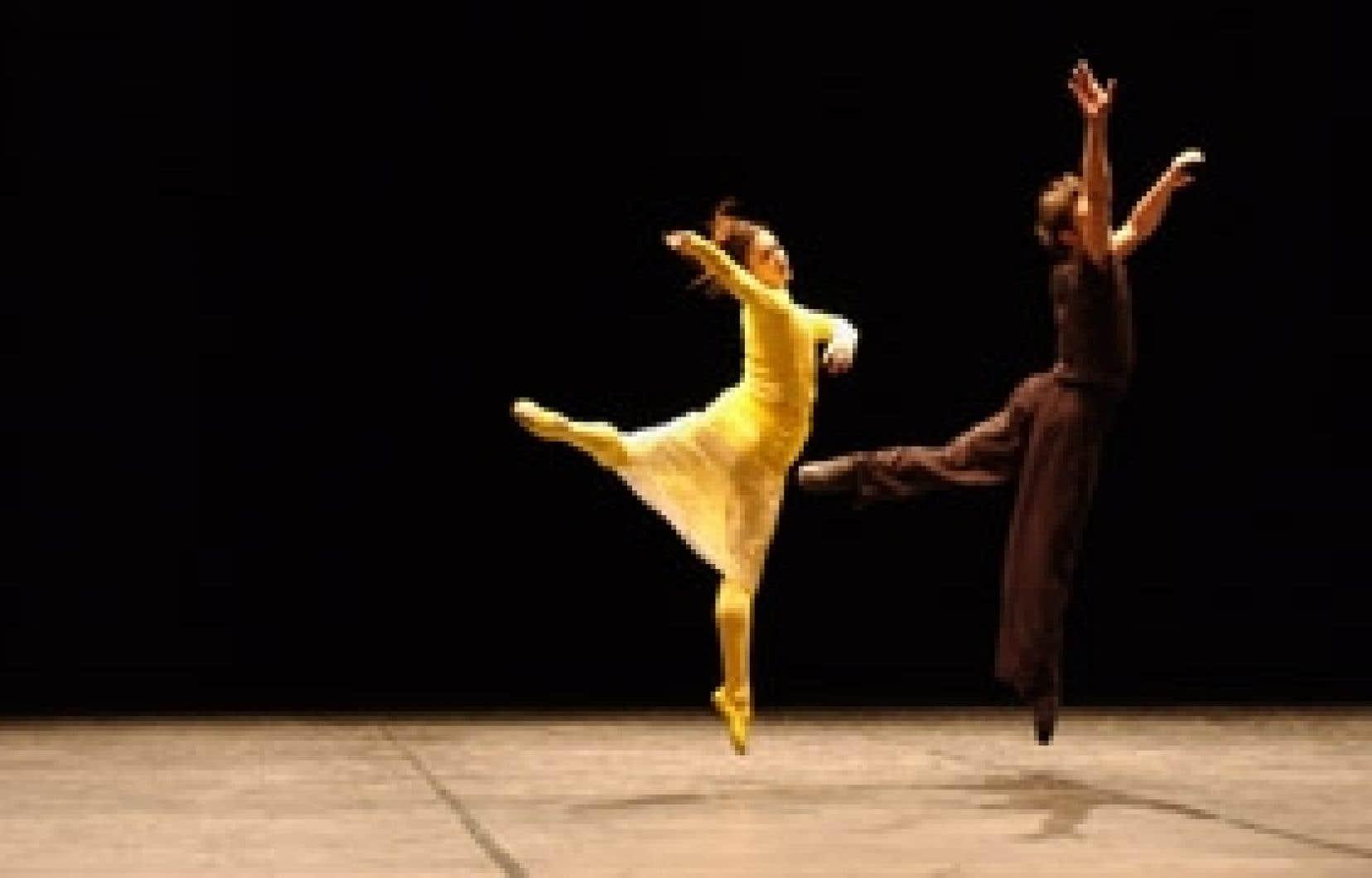 Premier passage ici du  Ballet du Grand Théâtre de Genève