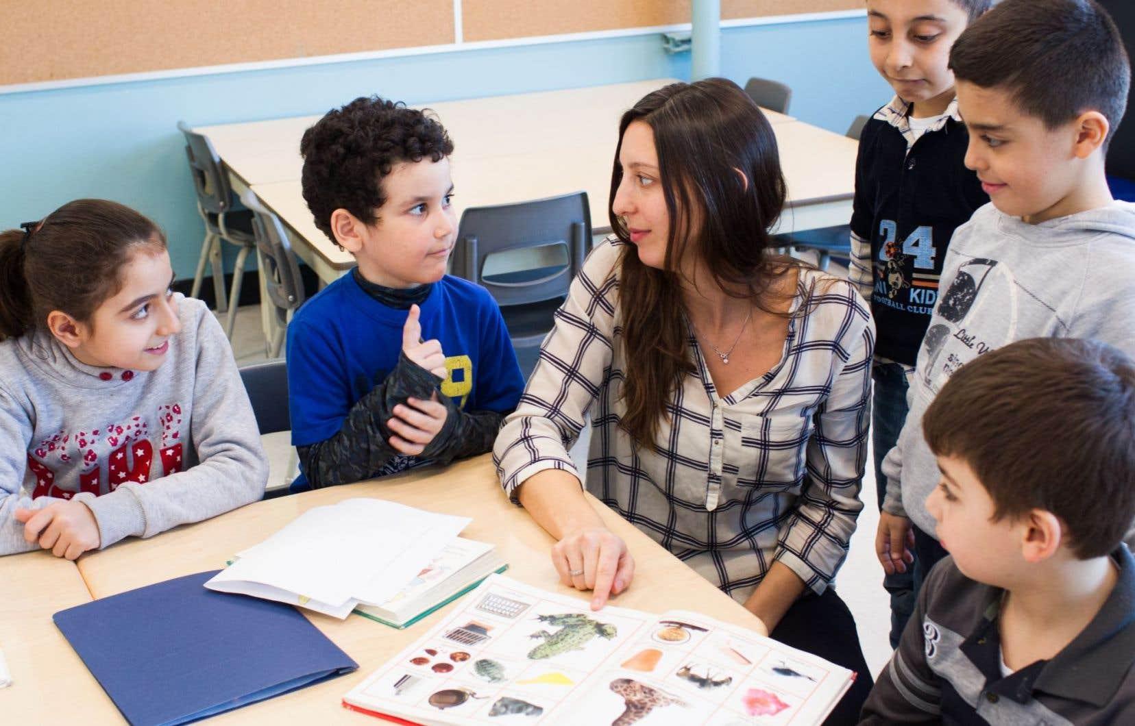 Selon les données de la CSDM, plus de 3000 élèves fréquentent les classes spéciales destinées aux élèves non francophones.