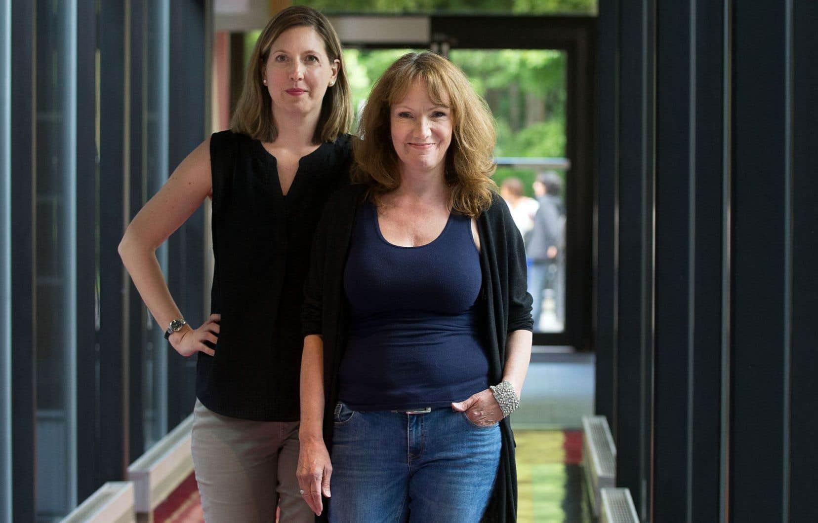 Amanda Kellock et Danette MacKay ont transposé l'action dans un futur post-apocalyptique.