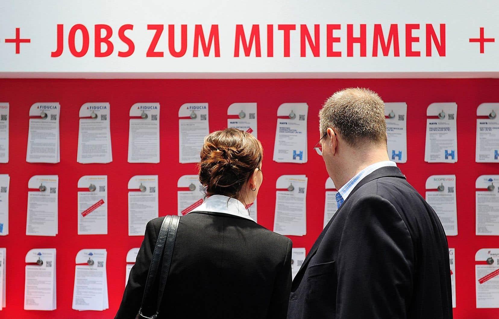 Les taux de chômage les plus faibles en mai ont été enregistrés à Malte (4,1%) et en Allemagne (4,2%).